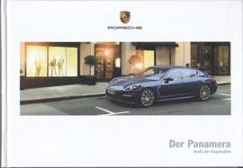 Panamera brochure, 158 pages, 03/2015, hard covers, German