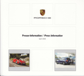 Porsche Press Kit Geneva 2009, DVD with pictures & small booklet, factory-issued,  German/English