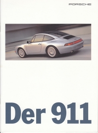 911 (993) brochure, 16 pages, 08/95, German
