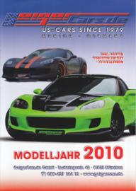 Geiger US Cars brochure, 8 pages, 2010, German language