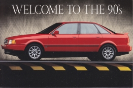 90 Sedan, DIN A6 postcard, USA issue, 1993