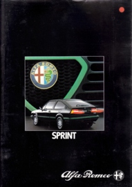 Sprint Veloce brochure, 28 pages, 04/1983, # 166, French
