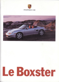 Boxster brochure, 24 pages, 08/96, French %