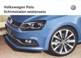 Polo complete wheels sets brochure, A4-size, 6 pages, 04/2016, Dutch language