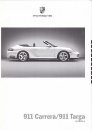 911 Carrera/Targa pricelist, 72 pages, 08/2003, WVK 212 011 04, German