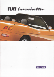 Barchetta Cabriolet brochure, 20 pages (A4), 06/1995, Dutch language