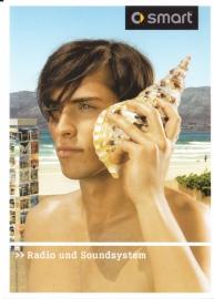 Radio & Soundsystem postcard, A6-size, Citycard freecard, German language