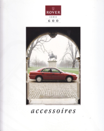 600 accessories brochure, 12 pages, about 1997, French language, Belgium