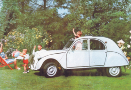 Citroen 2CV, DIN A6-size, unused, Dutch issue, 2008