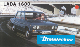 1600 Sedan brochure, 4 pages, about 1975, Slowakian language