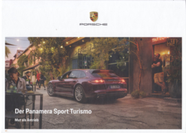 Panamera Sport Turismo brochure, 156 pages, 08/2019, German language, hard covers