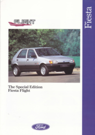 Fiesta Flight brochure, 6 pages, 06/1991, English language, UK