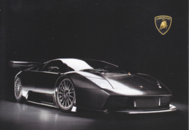 Murcielago R GT postcard, DIN A6-size, no text, about 2006