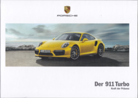 911 Turbo brochure, 130 pages, 03/2017, hard covers, German