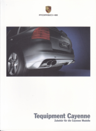 Cayenne Tequipment brochure, 36 pages, 05/2004, German language