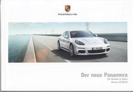 Panamera pricelist, 144 pages, 04/2013, German