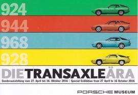 Transaxle model series, Stuttgart, factory issue, A6-size postcard, 2016, German/English