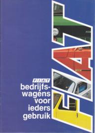 Fiorino, 900E, 238E & 242E brochure, 12 pages, about 1991, Dutch language (Belgium)