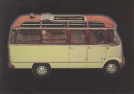 Mercedes-Benz O 319 D Bus 1957, Classic Car(d) of the month 7/2003, Germany