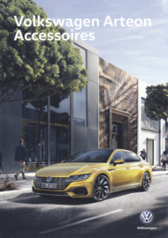 Arteon accessories brochure, A4-size, 4 pages, 2018, Dutch language