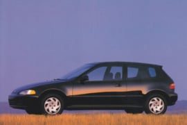 Civic Si, US postcard, continental size, 1993, # ZO313