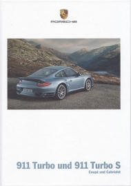 911 Turbo/Turbo S brochure, 118 pages, 11/2009, hard covers, German