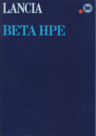Beta HPE brochure, A4-size, 20 pages, 2/1979, German language