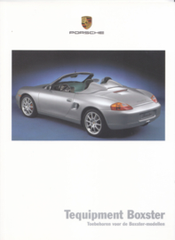 Boxster Tequipment brochure, 28 pages, 08/1999, Dutch