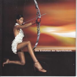 156 & Sportwagon brochure, 10 square pages, 2002, German language