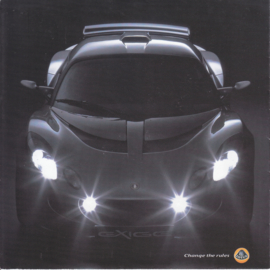 Exige brochure, 10 pages, factory-issued, 4 languages