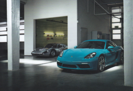 718 Cayman S,  A6 postcard, 2016,  German language