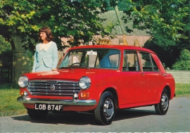 1300 Glider 4-Door, Dutch postcard, DIN A6-size, about 1966