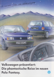 Polo Fantasy brochure, 8 pages,  A4-size, German language, 09/1992
