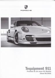 911 Tequipment pricelist, 64 pages, 06/2010, German