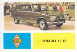 Renault 16 TS, 4 languages, # 162