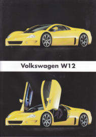 W12 sportswagen leaflet, A4-size, 2 pages, 02/1999, Dutch language