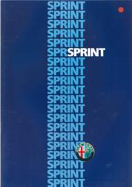 Sprint 1.5 brochure, 28 pages, 07/1986, # 122, Dutch