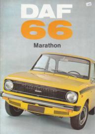 66 Sedan/Coupe/Stationcar Marathon Variomatic brochure, 16 pages, 09/72, Dutch language