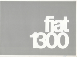 1300 Sedan/1300+1500 Familiale brochure, 14 pages, 11/1965, Dutch language