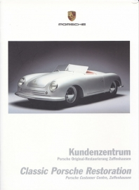 Classic restauration brochure, 20 pages, 03/2002, German/English