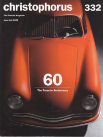 Porsche Christophorus # 332, 100 pages, issue 3/2008, English language