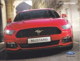 Mustang European brochure, 64 pages, 04/2015, German language