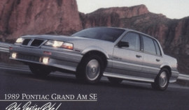 Grand Am SE, 1989, standard-size, USA