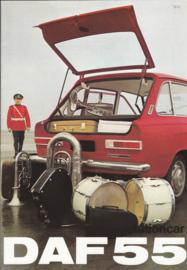 44 & 55 Stationcar Variomatic brochure, 16 pages, 02/69, Dutch language