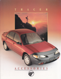 Tracer accessories brochure, 8 pages, 3/1986, # ABT-1201, USA