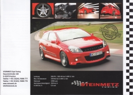 Steinmetz Tuning brochure, 12 pages, A5-size, about 2007, German/English language