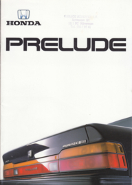 Prelude brochure, 28 pages, A4-size, Dutch, 10/1987