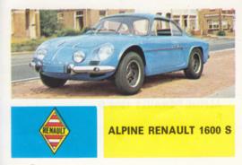 Alpine Renault 1600 S, 4 languages, # 9