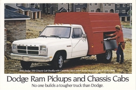 Ram Pickups & Chassis Cabs, US postcard, continental size, 1993