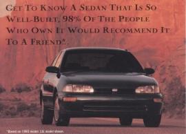 Prizm, US postcard, standard size, 1993